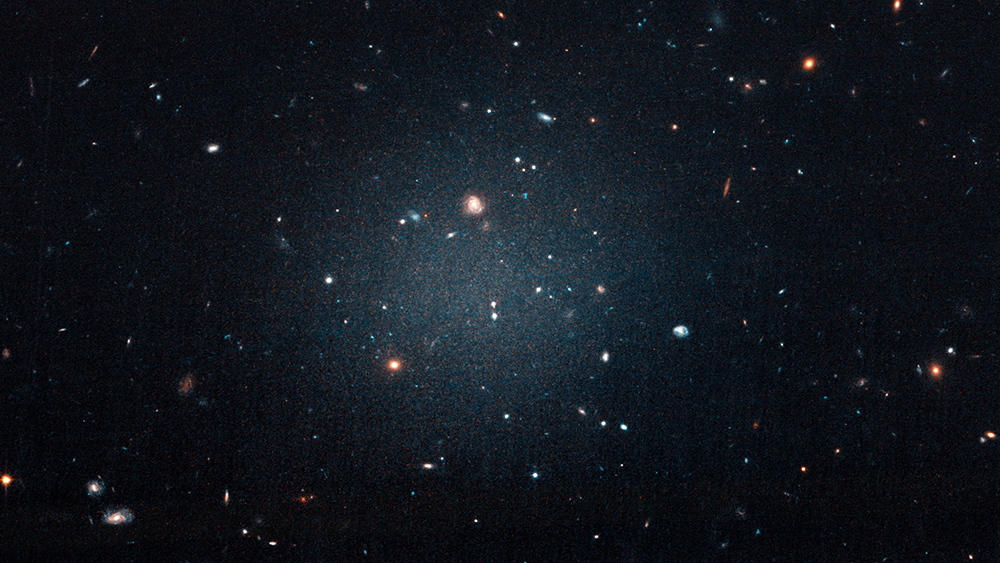 Nearby Galaxy Has Almost No Dark Matter