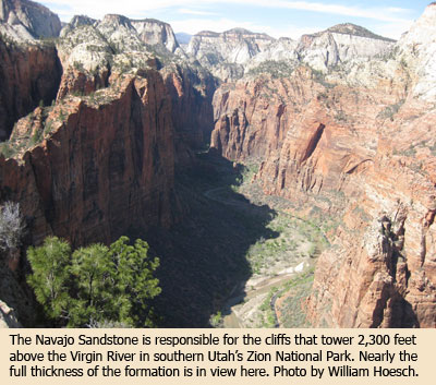 Marketing the Navajo Sandstone | The Institute for Creation Research