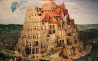 Out of Babel--Not Africa