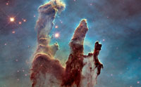 The Hubble 'Pillars of Creation' Revisited