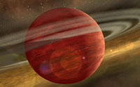 A New Planet from Cosmic Dust?