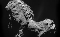 Unexpected Oxygen on Young-Looking Comet
