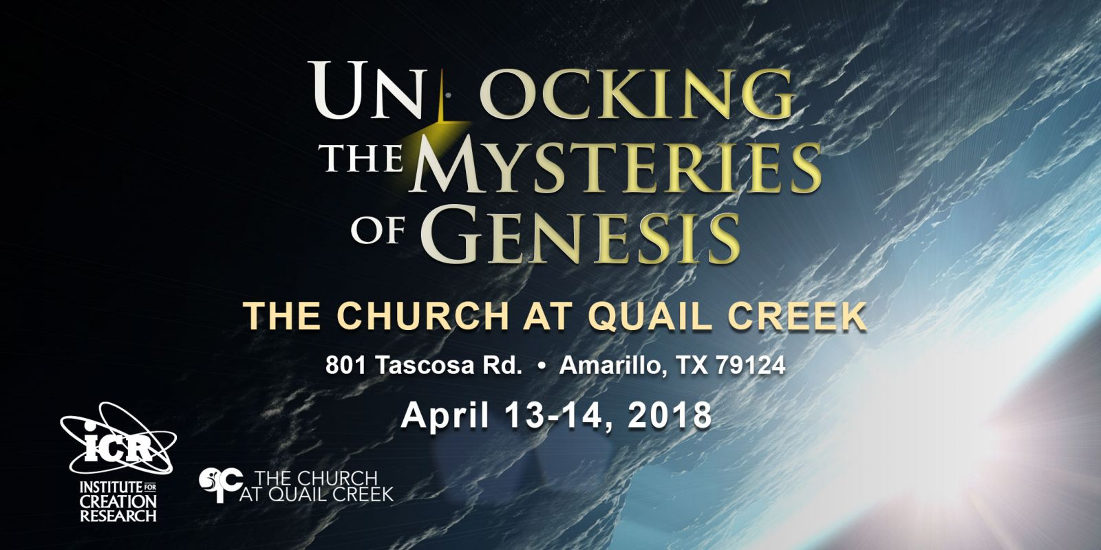 Unlocking the Mysteries of Genesis Conference