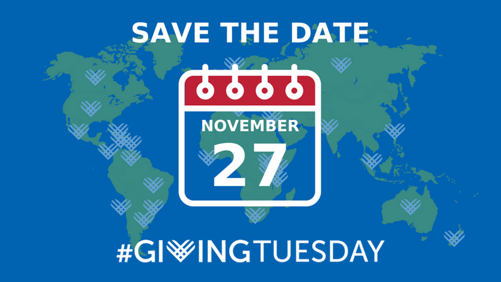 Save the Date for Giving Tuesday 2018!