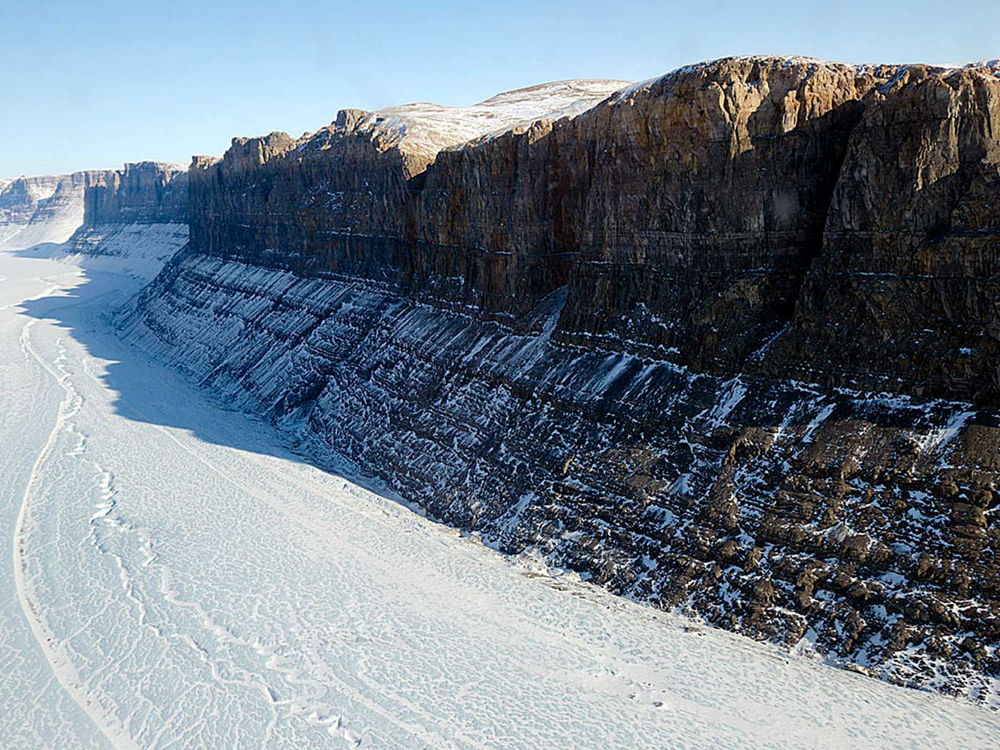 'Grand Canyon' of Greenland Formed by Genesis Flood