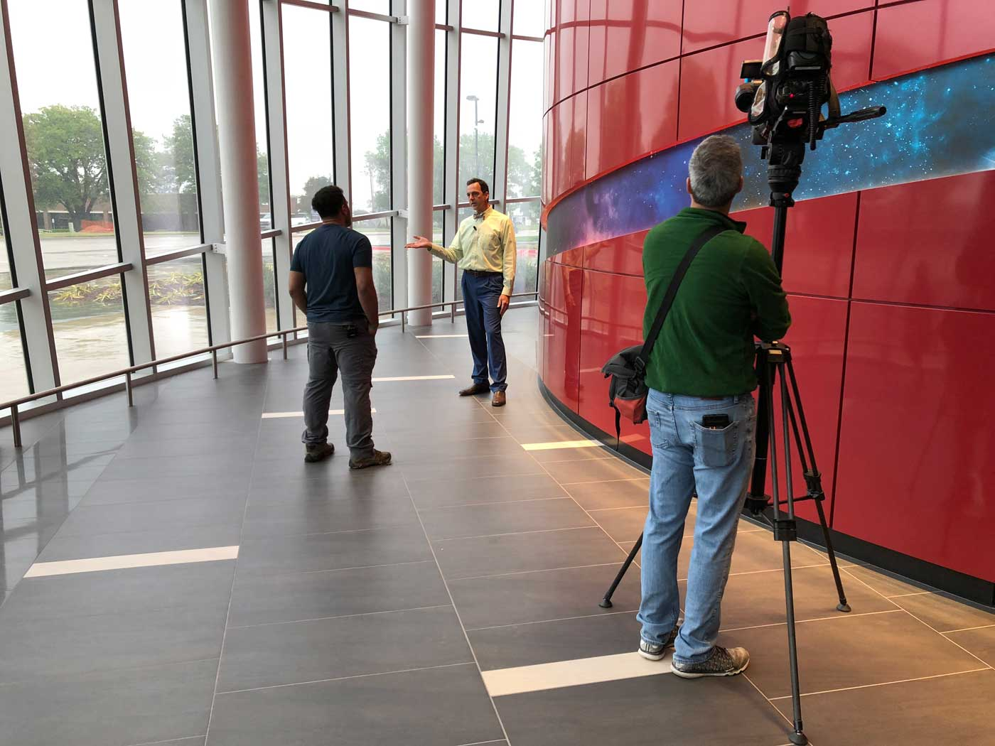 WFAA News Highlights the ICR Discovery Center