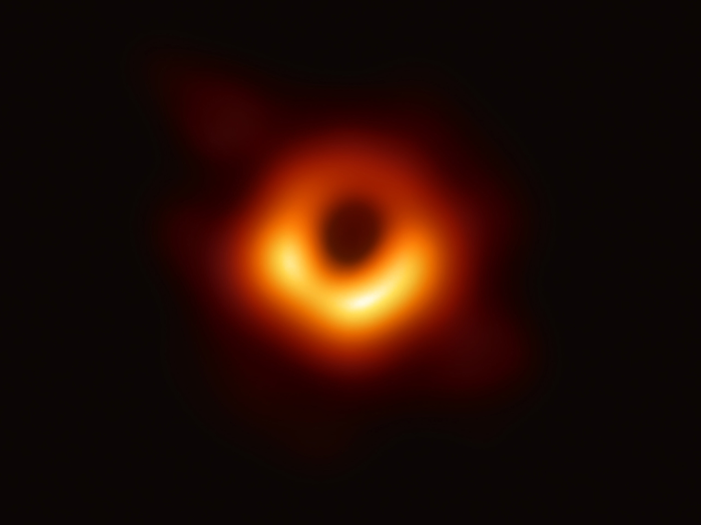 First Ever Photo of a Black Hole