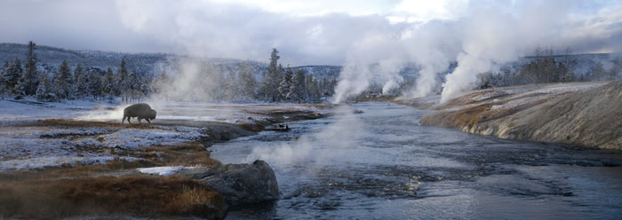 An Ice Age in Yellowstone National Park