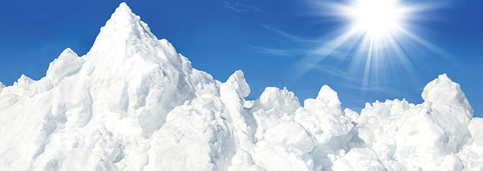 A Mountain Of Snow After The Genesis Flood The Institute For